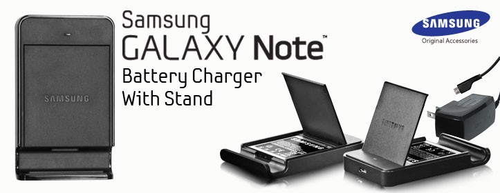 Battery Charger with Stand